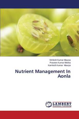 Nutrient Management in Aonla (Paperback)