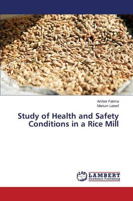 Study of Health and Safety Conditions in a Rice Mill (Paperback)