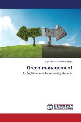 Green Management (Paperback)