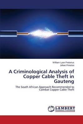 A Criminological Analysis of Copper Cable Theft in Gauteng (Paperback)