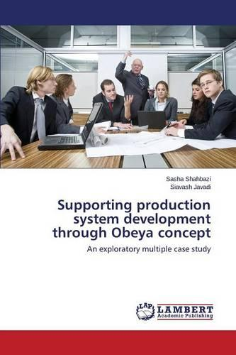 Supporting Production System Development Through Obeya Concept (Paperback)