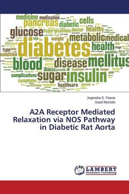 A2a Receptor Mediated Relaxation Via Nos Pathway in Diabetic Rat Aorta (Paperback)
