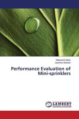Performance Evaluation of Mini-Sprinklers (Paperback)