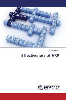 Effectiveness of Hrp (Paperback)