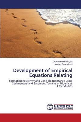 Development of Empirical Equations Relating (Paperback)