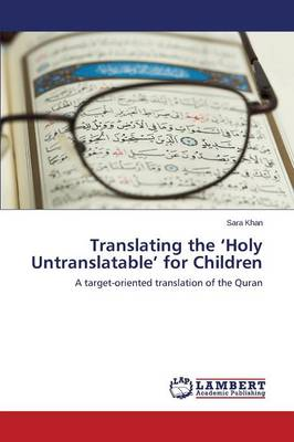 Translating the 'Holy Untranslatable' for Children (Paperback)