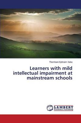 Learners with Mild Intellectual Impairment at Mainstream Schools (Paperback)