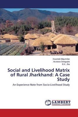 Social and Livelihood Matrix of Rural Jharkhand: A Case Study (Paperback)