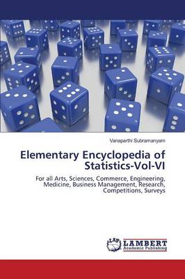 Elementary Encyclopedia of Statistics-Vol-VI (Paperback)