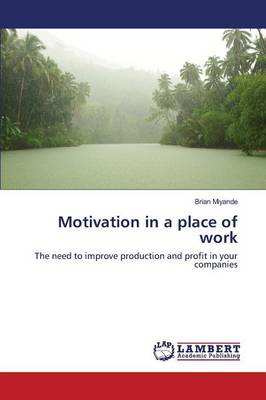 Motivation in a Place of Work (Paperback)