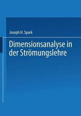 Dimensionsanalyse in Der Stromungslehre (Paperback)