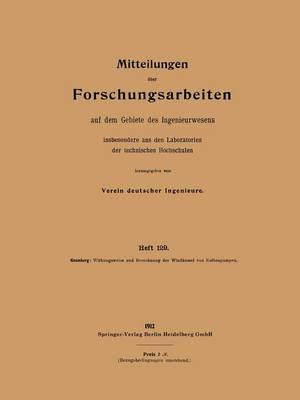 Wirkungsweise Und Berechnung Der Windkessel Von Kolbenpumpen - Forschungsarbeiten Auf Dem Gebiete Des Ingenieurwesens 129 (Paperback)