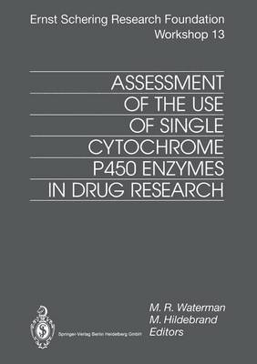 Assessment of the Use of Single Cytochrome P450 Enzymes in Drug Research - Ernst Schering Foundation Symposium Proceedings 13 (Paperback)