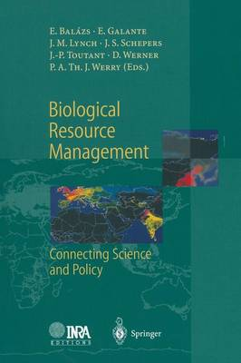 Biological Resource Management Connecting Science and Policy (Paperback)