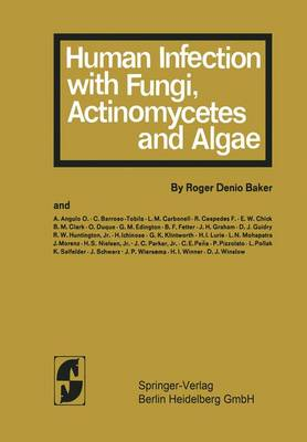 Human Infection with Fungi, Actinomxcetes and Algae (Paperback)