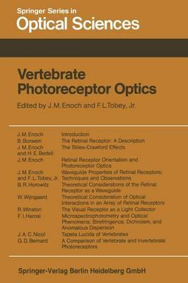 Vertebrate Photoreceptor Optics - Springer Series in Optical Sciences 23 (Paperback)