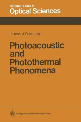 Photoacoustic and Photothermal Phenomena: Proceedings of the 5th International Topical Meeting, Heidelberg, Fed. Rep. of Germany, July 27-30, 1987 - Springer Series in Optical Sciences 58 (Paperback)
