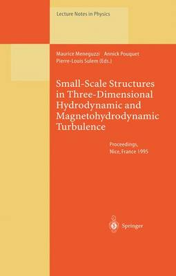 Small-Scale Structures in Three-Dimensional Hydrodynamic and Magnetohydrodynamic Turbulence: Proceedings of a Workshop Held at Nice, France, 10-13 January 1995 - Lecture Notes in Physics 462 (Paperback)