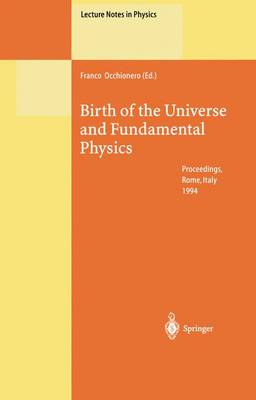 Birth of the Universe and Fundamental Physics: Proceedings of the International Workshop Held in Rome, Italy, 18-21 May 1994 - Lecture Notes in Physics 455 (Paperback)