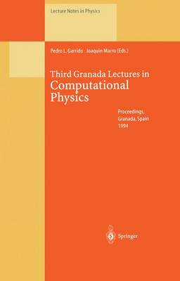 Third Granada Lectures in Computational Physics: Proceedings of the III Granada Seminar on Computational Physics, Held at Granada , Spain, 5-10 September 1994 - Lecture Notes in Physics 448 (Paperback)