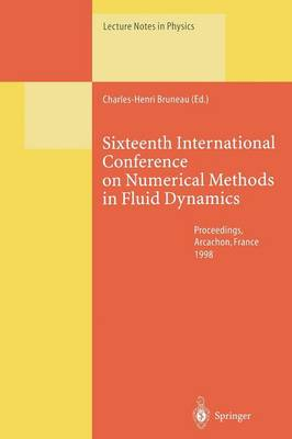 Sixteenth International Conference on Numerical Methods in Fluid Dynamics: Proceedings of the Conference Held in Arcachon, France, 6-10 July 1998 - Lecture Notes in Physics 515 (Paperback)