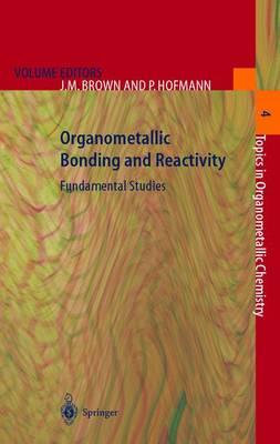 Organometallic Bonding and Reactivity: Fundamental Studies - Topics in Organometallic Chemistry 4 (Paperback)