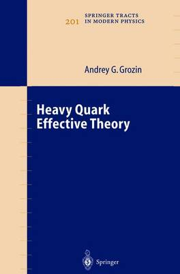 Heavy Quark Effective Theory - Springer Tracts in Modern Physics 201 (Paperback)