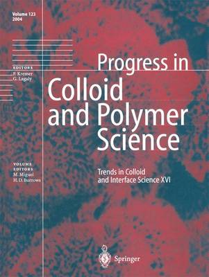 Trends in Colloid and Interface Science XVI - Progress in Colloid and Polymer Science 123 (Paperback)