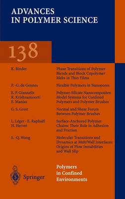 Grafting/Characterization Techniques/Kinetic Modeling - Advances in Polymer Science 137 (Paperback)