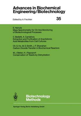 Biotechnology Methods - Advances in Biochemical Engineering/Biotechnology 35 (Paperback)