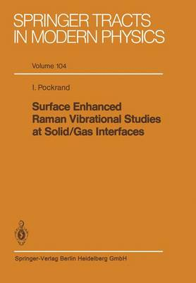 Surface Enhanced Raman Vibrational Studies at Solid Gas Interfaces - Springer Tracts in Modern Physics 104 (Paperback)