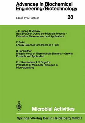 Microbial Activities - Advances in Biochemical Engineering/Biotechnology 28 (Paperback)