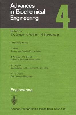 Engineering - Advances in Biochemical Engineering/Biotechnology 4 (Paperback)