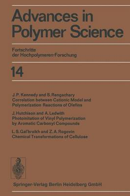 Advances in Polymer Science: Fortschritte der Hochpolymeren-Forschung - Advances in Polymer Science 14 (Paperback)