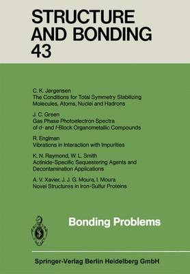 Bonding Problems - Structure and Bonding 43 (Paperback)