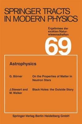 Astrophysics - Springer Tracts in Modern Physics 69 (Paperback)