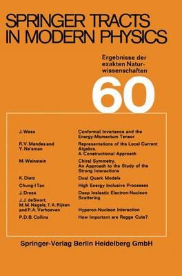 Springer Tracts in Modern Physics - Springer Tracts in Modern Physics 60 (Paperback)