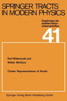 Cluster Representations of Nuclei - Springer Tracts in Modern Physics 41 (Paperback)