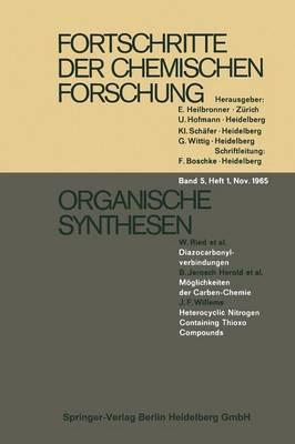 Organische Synthesen (Paperback)