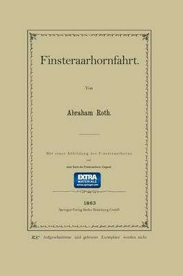 Finsteraarhornfahrt (Paperback)