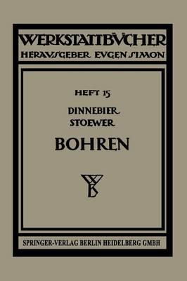 Bohren - Werkstattbucher 15 (Paperback)