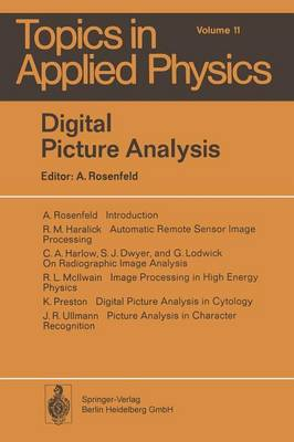 Digital Picture Analysis - Topics in Applied Physics 11 (Paperback)