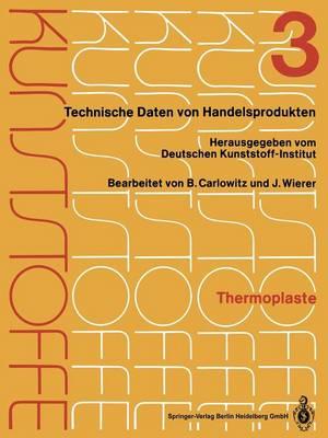 Thermoplaste: Merkbl tter 805-1200 (Paperback)