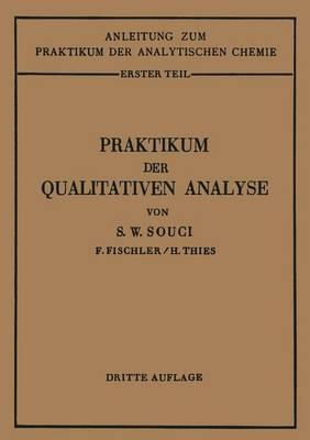 Praktikum Der Qualitativen Analyse (Paperback)