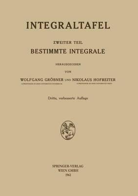 Bestimmte Integrale (Paperback)