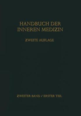 Handbuch Der Inneren Medizin - Handbuch Der Inneren Medizin (Paperback)