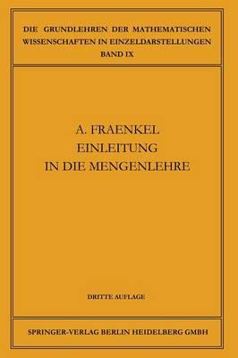 Einleitung in Die Mengenlehre - Grundlehren Der Mathematischen Wissenschaften (Springer Hardcover) 9 (Paperback)