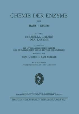 Die Hydrolysierenden Enzyme Der Nucleins uren, Amide, Peptide Und Proteine - Chemie Der Enzyme (Paperback)