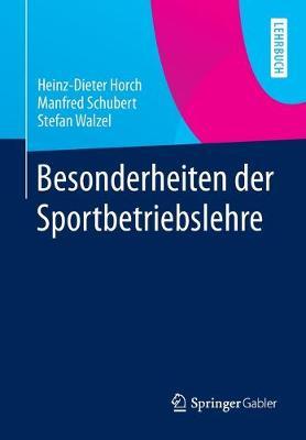 Besonderheiten Der Sportbetriebslehre (Paperback)