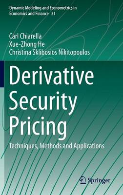 Derivative Security Pricing: Techniques, Methods and Applications - Dynamic Modeling and Econometrics in Economics and Finance 21 (Hardback)